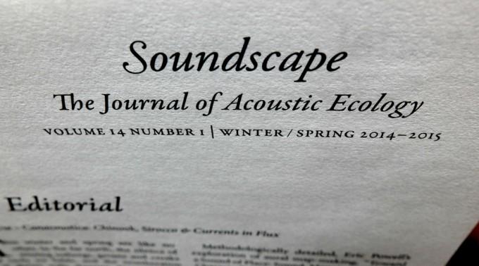 Soundscape Journal 14:1 - 04