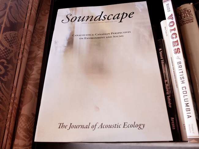 Soundscape Journal 14:1